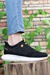 Erkek Siyah Oranj Sneaker 0012075