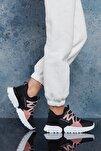 Siyah Beyaz Kadın Sneaker