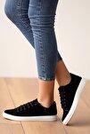 Kadın Siyahsüet Ayakkabı