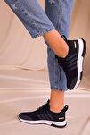 Lacivert Kadın Sneaker 15195