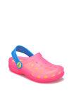 S10116 -Ö20 Koyu Yeşil Fuşya Kız Çocuk Sandalet 100293818