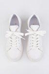 Kadın Beyaz Sneaker Ayakkabı Balen