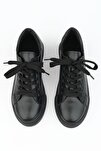 Kadın Siyah Sneaker Ayakkabı Balen