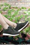 Haki Beyaz Krep Unisex Sneaker 00121057