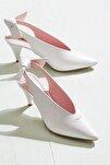 NELIDAA Beyaz Kadın Ayakkabı