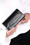 Siyah Cilt Kadın El Çantası C0201-18