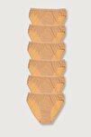 Kadın Ten 6'lı Paket  Bikini Külot ELF568T0635CCM6