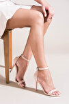 Pudra Kadın Topuklu Ayakkabı B922112602