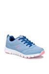 ALMERA W Açık Pembe Açık Mavi Beyaz Kadın Fitness Ayakkabısı 100232783