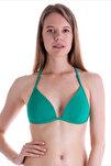 Kadın Nil Yeşili Push-Up Bikini Üstü 63518/D8104