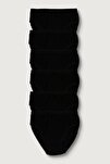 Kadın Siyah 6'lı Paket  Ribana Bato Külot ELF568T0922CCM6