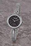 Plkm008r01 Kadın Saat Taş Detaylı Kadran Şık Metal Kordon