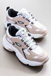 Kadın Spor Ayakkabı Nude Tb288