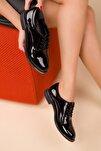 Siyah Rugan Kadın Casual Ayakkabı 15248