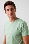 Mint Basıc Erkek T-Shirt - Pamuklu Kısa Kollu Bisiklet Yaka T-Shirt TMNSS19BO0001