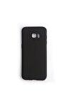 Samsung Galaxy S7 Edge Kılıf Premium Silikon Siyah