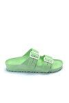 ESM212Z001 Kadın Terlik Neon Yeşil