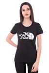 Kadın Siyah Easy Tee Tshirt T0c256jk3