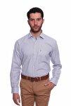 Uzun Kollu Erkek Gömlek Gri 1912017