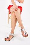 Lame Kadın Sandalet B777805009