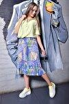 Beyaz Sarı Neon Kadın Spor Ayakkabı 9Y2SAJ0005