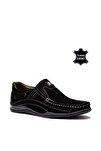 Hakiki Deri Siyah Erkek Casual Ayakkabı PRA-148166-334673