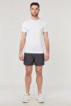 Beyaz Erkek Antrenman T-Shirt FS-1332