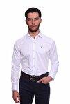 Uzun Kollu Erkek Gömlek Beyaz 1912021