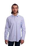 Uzun Kollu Erkek Gömlek Açık Mavi 1912017