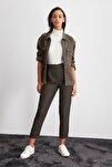 Haki Pili Detaylı Pantolon TWOAW20PL0541