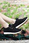 Siyah Beyaz Krep Unisex Sneaker 00121057