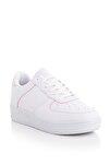 Beyaz Fuşya Unisex Sneaker V2005-0