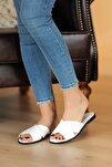 Beyaz Kadın Sandalet A102-20