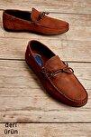 Erkek Hakiki Deri Tütün Loafer Ayakkabı L17541503