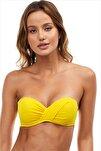 Sarı Kadın Bikini Üstü 63549/D2022