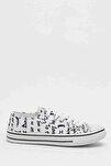 Beyaz Siyah Kadın Ayakkabı M9999-19-100165R