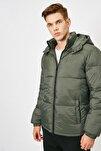 Erkek Yeşil Mont 0KAM21096LW