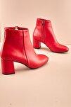 Kırmızı Kadın Bot & Bootie K0674490109
