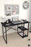 60x120 Cm 2 Raflı Çalışma Masası Bilgisayar Masası Ofis Ders Yemek Masası Bendir