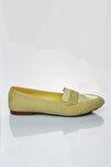 Sarı Süet Kadın Babet 19Y 140