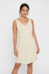 Kadın Kırık Beyaz Elbise 10221798 VMSAGI