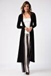Kadın Siyah Kimono Hırka 17L5257