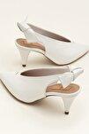 NELIDA-1 Beyaz Kadın Ayakkabı
