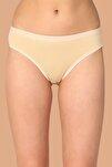 Kadın Ten 6'Lı Paket Pamuklu Su Yolu Bikini Külot