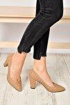 Vizon Kadın Topuklu Ayakkabı 19K 207