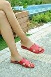 Kırmızı Kadın Terlik A820-19