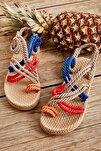 Çok Renkli Kadın Sandalet H05780101