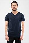 SARGON Lacivert Erkek T-Shirt 100573740