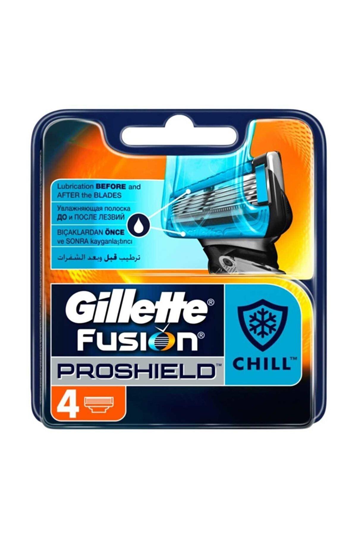 Gillette Tıraş Bıçağı Proshield 4'lü Set  Serinletici