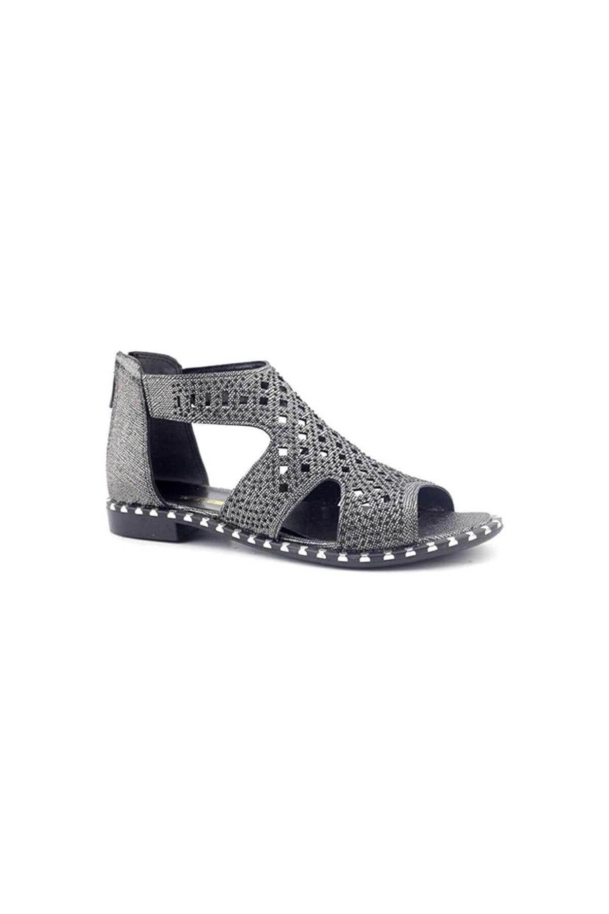 PUNTO 667108 Kadın Sandalet-platin